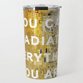 Radiant Adele Bloch-Bauer I Travel Mug