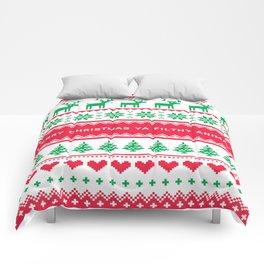 Merry Christmas Ya Filthy Animal Comforters