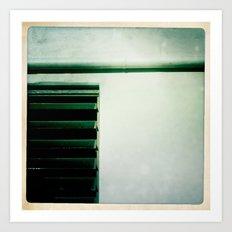 shutters Art Print