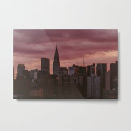 New York 03 Metal Print