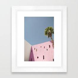 HOTEL PALM Framed Art Print