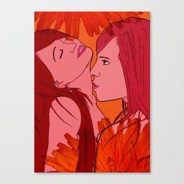 Caress Canvas Print