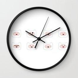 Finn faces Wall Clock