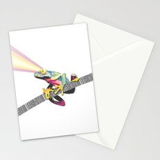 Frog Attack Stationery Cards