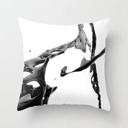 BLACK COFFEE (Liqulet collection) Throw Pillow