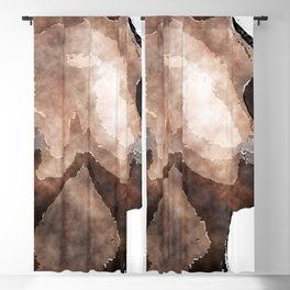 African American Nud Blackout Curtain