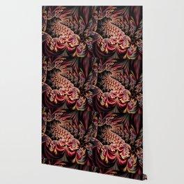 Flower Dragon Wallpaper