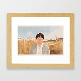 v Framed Art Print