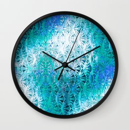 Connectedness (blue) Wall Clock