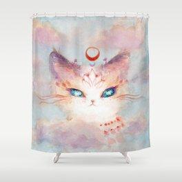 Stargazer Cat : Vision Seeker Shower Curtain