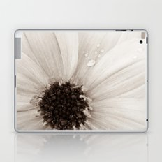 Flower with droplets Laptop & iPad Skin