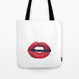 LIPS. Tote Bag