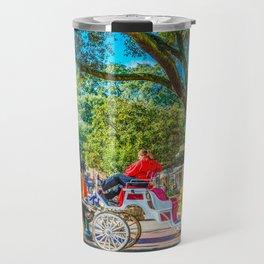 Carriage Tours Savannah Travel Mug