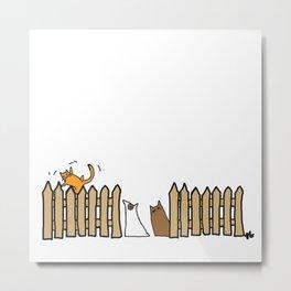 Fence. Metal Print