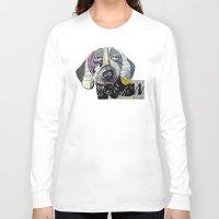 dachshund Long Sleeve T-shirts featuring dachshund  by bri.buckley