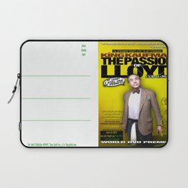 King Kaufman: The Passion of Lloyd (2008) - Movie Poster Postcard Laptop Sleeve
