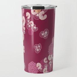 Floral Seamless Pattern Travel Mug