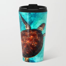 Marine sea fish animal Metal Travel Mug