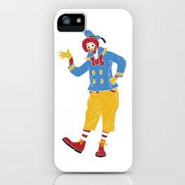 RonaldMcDonaldDuck iPhone Case