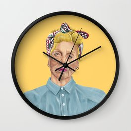 The Israeli Hipster leaders - Shulamit Aloni Wall Clock