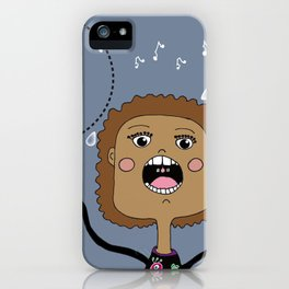 Le chanteur iPhone Case