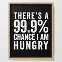 I Am Hungry Funny Quote by envyart