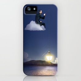 On The Cloud iPhone Case