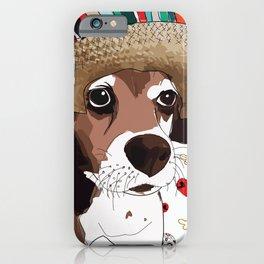 Cinco de Beagle Dog iPhone Case
