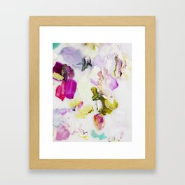 Back to Joy (Abstract Painting) Framed Art Print