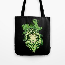TigerCamou Tote Bag