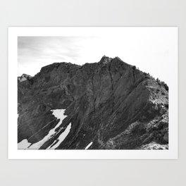 mount brunswick Art Print