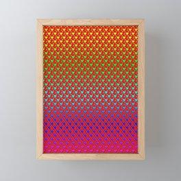 Regenbogenherzen - Rainbow hearts Framed Mini Art Print