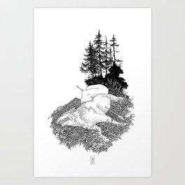 Eternal Rest Art Print