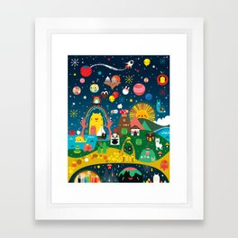 Super Mini Universe Print Framed Art Print