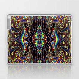 Kaleidoscopic Self Portrait Laptop & iPad Skin