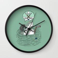The Enforcer Shark Wall Clock