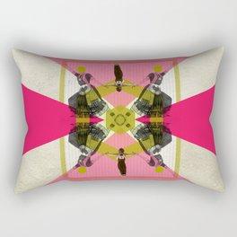 Bollywood geometrical gym Rectangular Pillow