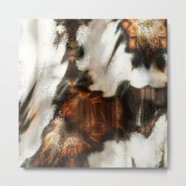 Winter Soft Metal Print