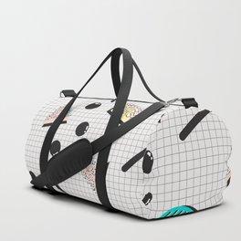 Memphis Pattern #15 Duffle Bag