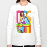 discount Long Sleeve T-shirts featuring Creative Title : DISCOUNT by Don Kuing