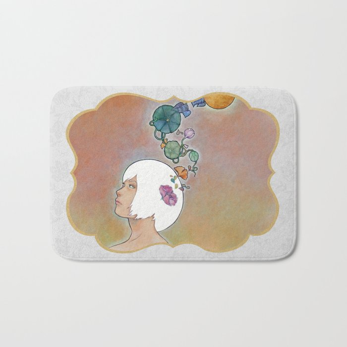 Moonflower Bath Mat