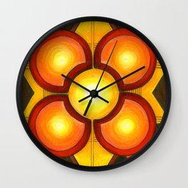 Star Blanket Wall Clock