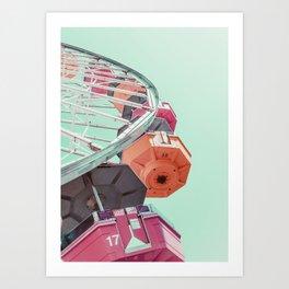 Fortune Wheel Art Print
