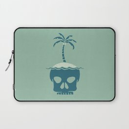 Skull Island – Green Laptop Sleeve