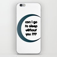 sleep iPhone & iPod Skins featuring Sleep by Cs025