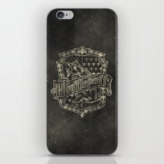 Hufflepuff House iPhone & iPod Skin