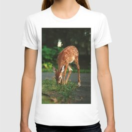 Fawn in the woods T-shirt