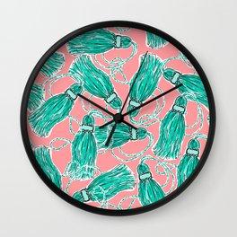 More Tassels Wall Clock