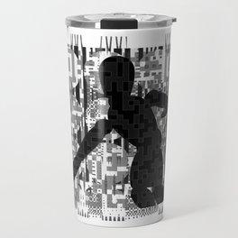 QR codeman Travel Mug
