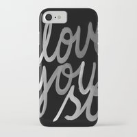 coldplay iPhone & iPod Cases featuring I Love You So by Cristallums